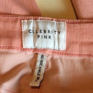 Celebrity Pink Jeans - Celebrity Pink MidRise Skinny Ankle Stretchy Jeans